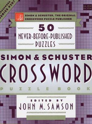 Simon & Schuster Crossword Puzzle Book 207 9780684848723