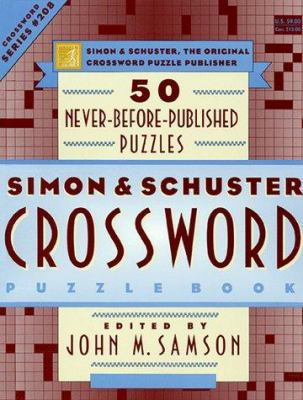 Simon & Schuster Crossword Puzzle Book #208 9780684848730
