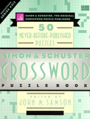 Simon & Schuster Crossword Puzzle Book #213 9780684869261