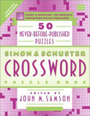 Simon & Schuster Crossword Puzzle Book 9780684869414