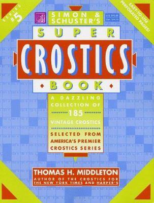 Simon & Schuster Super Crostics Book #5 9780684843643