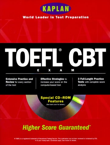 TOEFL CBT [With CD ROM] 9780684870953