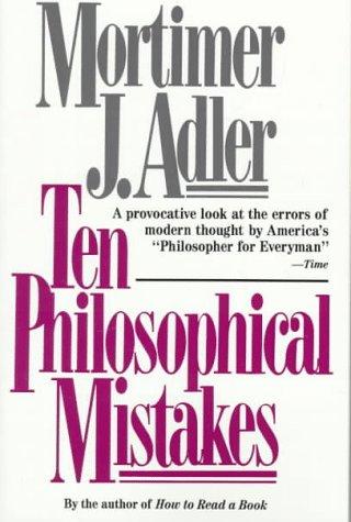 Ten Philosophical Mistakes 9780684818689