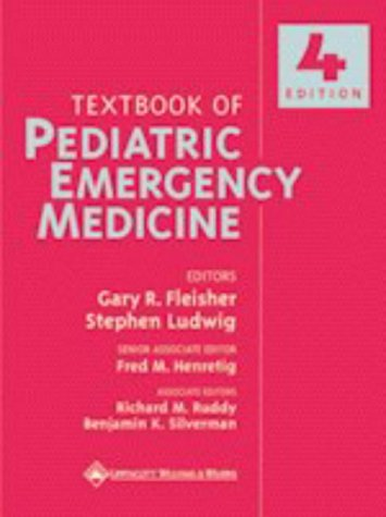 Textbook of Pediatric Emergency Medicine 9780683306095