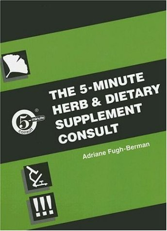 The 5-Minute Herb and Dietary Supplement Consult 9780683302738