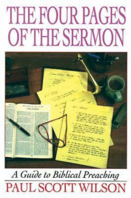 The Four Pages of the Sermon 9780687023950