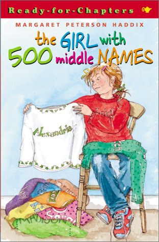 The Girl with 500 Middle Names 9780689841361