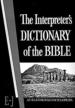 The Interpreter's Dictionary of the Bible Volume 2 E--J 9780687192717