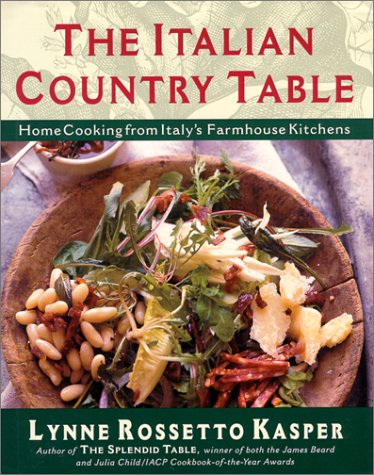 The Italian Country Table: Home Cooking from Italy's Farmhouse Kitchens 9780684813257