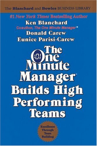 The One Minute Manager Builds High Performing Teams 9780688109721