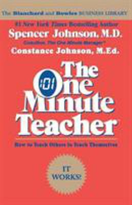 The One Minute Teacher 9780688082499