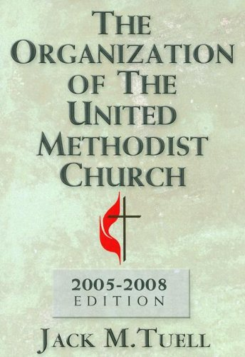 The Organization of the United Methodist Church 9780687333202