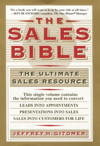 The Sales Bible 9780688133641
