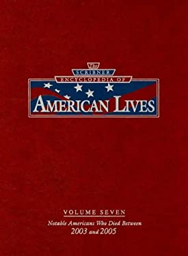 The Scribner Encyclopedia of American Lives: 2003-2005 9780684314990
