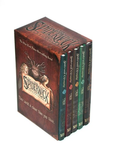 The Spiderwick Chronicles (Boxed Set): The Field Guide; The Seeing Stone; Lucinda's Secret; The Ironwood Tree; The Wrath of Mulgrath 9780689040344
