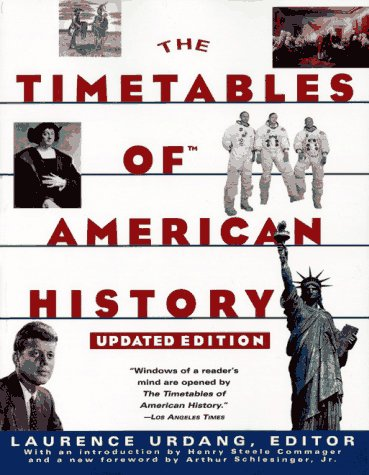 The Timetables of American History 9780684814209