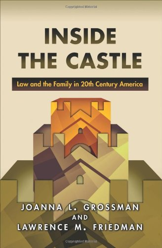 Inside the Castle: Law and the Family in 20th Century America 9780691149820