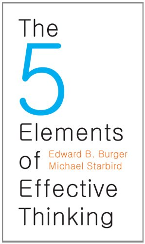 The 5 Elements of Effective Thinking 9780691156668