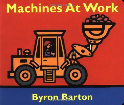 Machines at Work Board Book 9780694011070