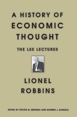 A History of Economic Thought: The Lse Lectures 9780691070148