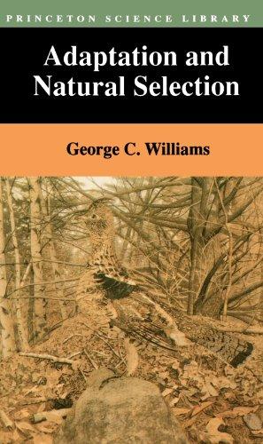 Adaptation And Natural Selection Williams