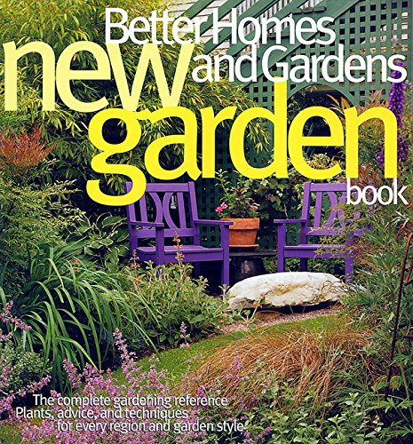 Better Homes and Gardens New Garden Book 9780696221446