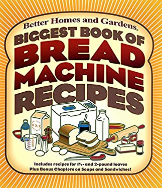 Biggest Book of Bread Machine Recipes 9780696218538