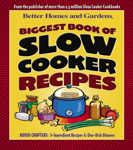 Biggest Book of Slow Cooker Recipes 9780696215469
