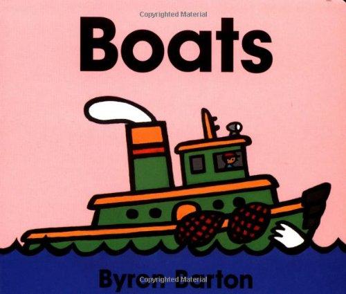 Boats Board Book 9780694011650
