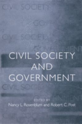 Civil Society and Government 9780691088020