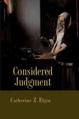 Considered Judgment 9780691005232