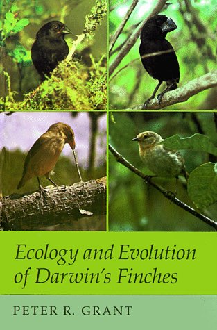Ecology and Evolution of Darwin's Finches 9780691084282