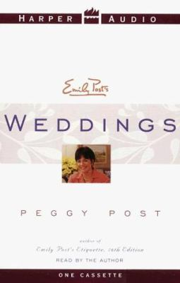 Emily Post's Weddings 9780694520862