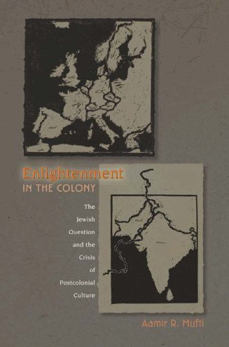 Enlightenment in the Colony: The Jewish Question and the Crisis of Postcolonial Culture 9780691057323