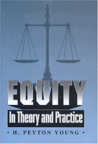 Equity: In Theory and Practice 9780691044644
