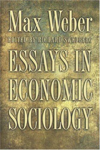 Essays In Economic Sociology