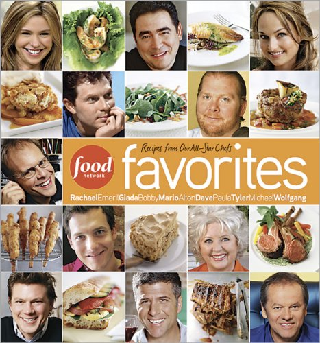 Food Network Favorites: Recipes from Our All-Star Chefs 9780696237072