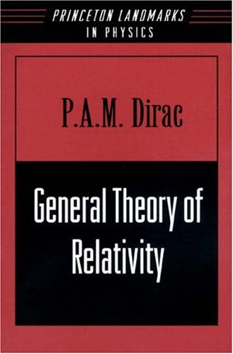 General Theory of Relativity 9780691011462