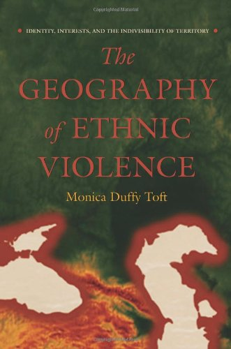 Geography of Ethnic Violence: Identity, Interests, & the Ind 9780691113548