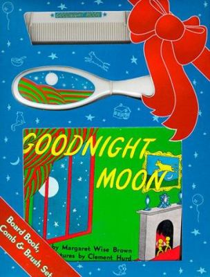 Goodnight Moon Board Book, Comb, and Brush Set [With Comb/Brush Set] 9780694012749