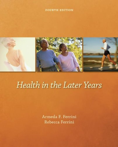 Health in the Later Years 9780697294456