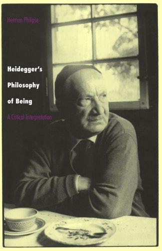 Heidegger's Philosophy of Being: A Critical Interpretation 9780691001197