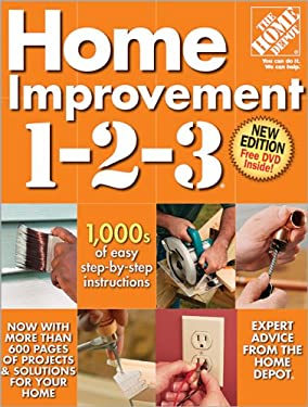 Home Improvement 1-2-3 [With CDROM] 9780696238505