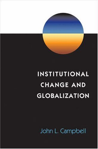 Institutional Change and Globalization 9780691089218