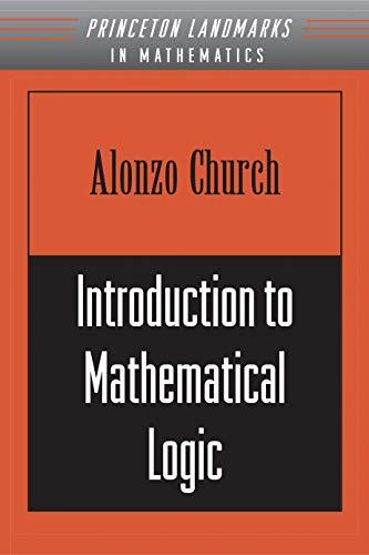 Introduction to Mathematical Logic (PMS-13)