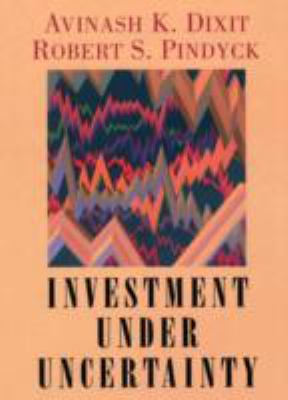 Investment Under Uncertainty 9780691034102