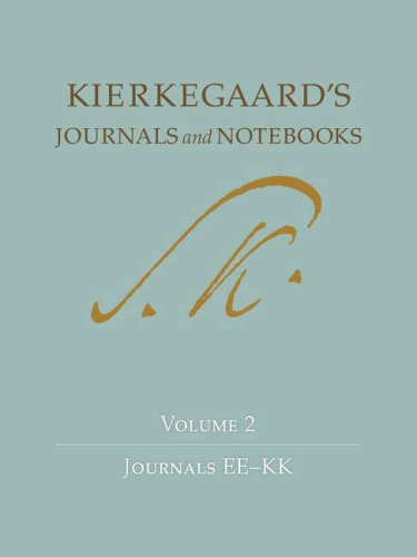 Kierkegaard's Journals and Notebooks: Journal Ee-Kk 9780691133447