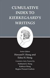 """Kierkegaard's Writings, XXVI: Cumulative Index to """"Kierkegaards Writings"""" 2554008"""