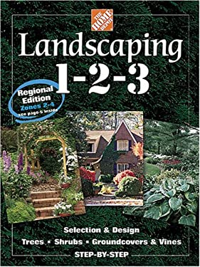 Landscaping 1-2-3: Regional Edition: Zones 2-4 9780696211607