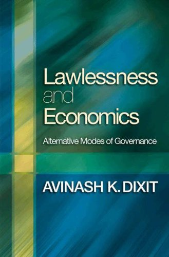 Lawlessness and Economics: Alternative Modes of Governance 9780691130347
